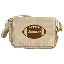 Personalized Football Messenger Bag