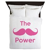 The moustache power Queen Duvet