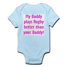 daddy girl rugby Body Suit