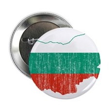 "Bulgaria Flag And Map 2.25"" Button (100 pack)"