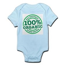 Unique Vegan organic Infant Bodysuit