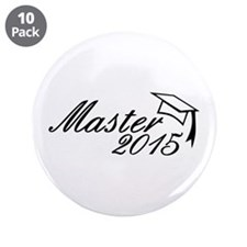 "Master 2015 3.5"" Button (10 pack)"