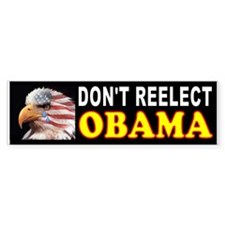 OBAMA EAGLE Bumper Sticker