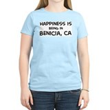 Benicia - Happiness Women's Pink T-Shirt