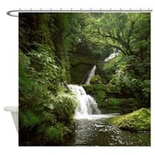McLean Falls NZ Shower Curtain