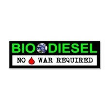 BIODIESEL Car Magnet 10 x 3