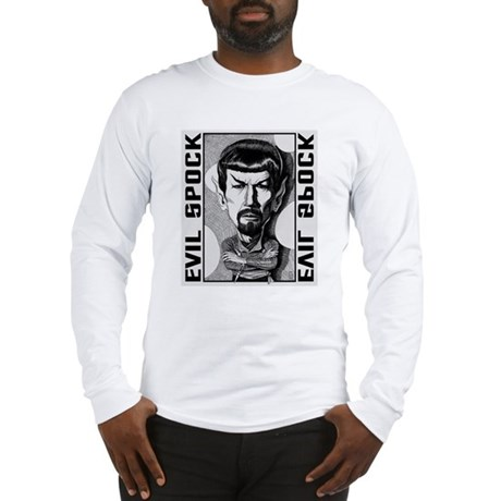 Evil Spock Long Sleeve T-Shirt