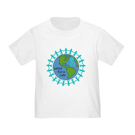 Ovarian Cancer United For A Cure Toddler T-Shirt