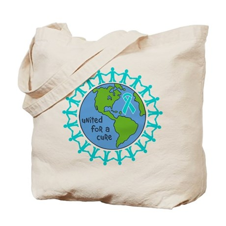 Ovarian Cancer United For A Cure Tote Bag