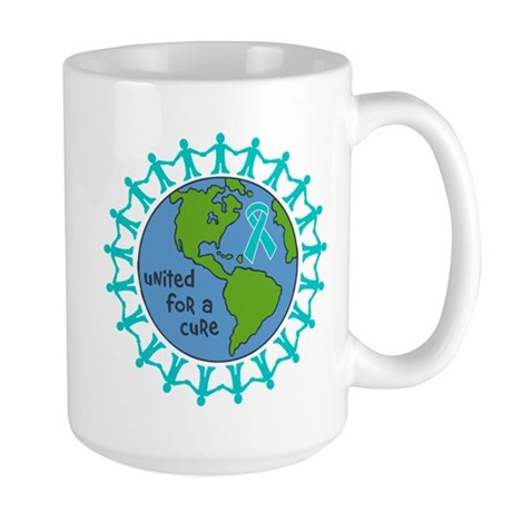 Ovarian Cancer United For A Cure Large Mug