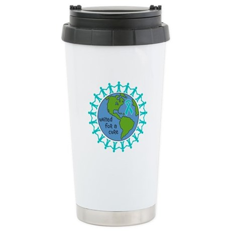Ovarian Cancer United For A Cure Ceramic Travel Mu