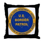 U.S. Border Patrol Throw Pillow