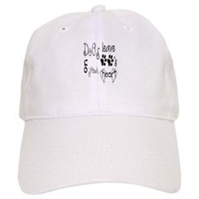 dog leave paws on your heart Baseball Cap
