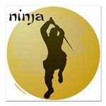 NINJA Square Car Magnet 3