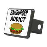 HAMBURGER ADDICT Rectangular Hitch Cover