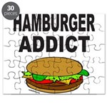 HAMBURGER ADDICT Puzzle