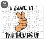 TWO THUMBS UP Puzzle
