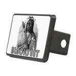 BLACKFEET INDIAN CHIEF Rectangular Hitch Cover