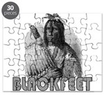 BLACKFEET INDIAN CHIEF Puzzle