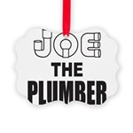JOE THE PLUMBER Picture Ornament