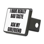 BAD TASTE Rectangular Hitch Cover