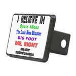 MR. RIGHT Rectangular Hitch Cover