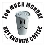COFFEE Square Car Magnet 3