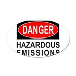 DANGER Oval Car Magnet