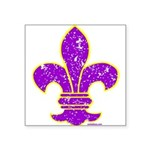 FLEUR DE LI Square Sticker 3