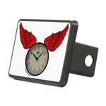 TIME FLIES Rectangular Hitch Cover