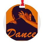 DANCE Round Ornament