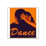 DANCE Square Sticker 3