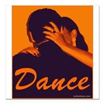 DANCE Square Car Magnet 3