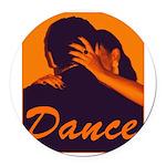 DANCE Round Car Magnet