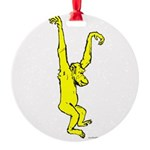 MONKEY Round Ornament