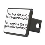LOST IN YOUR THOUGHTS Rectangular Hitch Cover