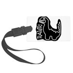 RAWR DINO Large Luggage Tag