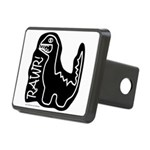 RAWR DINO Rectangular Hitch Cover