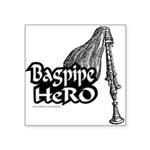 BAGPIPE HERO Square Sticker 3