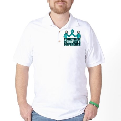 Ovarian Cancer Together Golf Shirt
