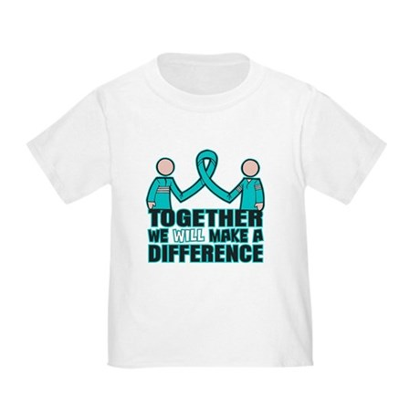 Ovarian Cancer Together Toddler T-Shirt