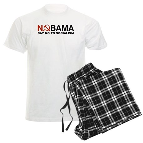 No Socialism Men's Light Pajamas