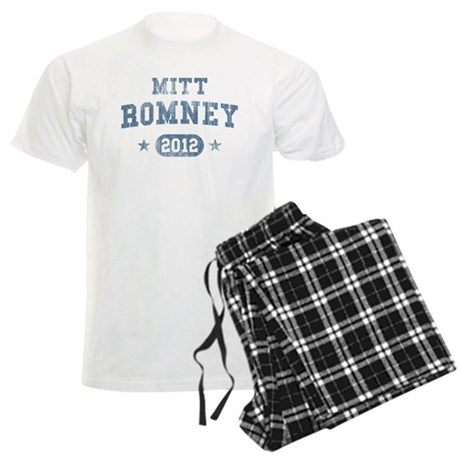 'Vintage' Mitt Romney Men's Light Pajamas