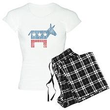 Vintage Democrat Donkey pajamas