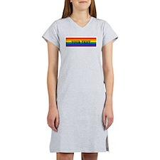 Personalize Rainbow Women's Nightshirt