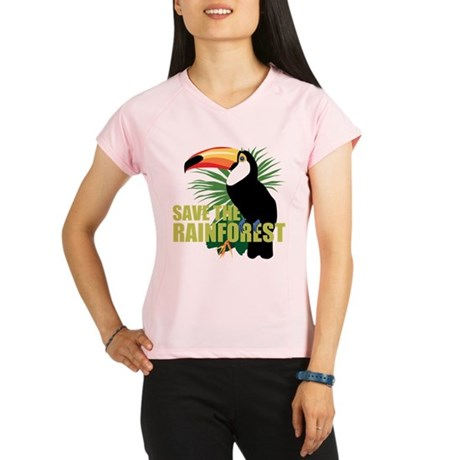 save_rainforest.png Performance Dry T-Shirt