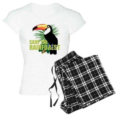 save_rainforest.png Women's Light Pajamas