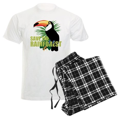 save_rainforest.png Men's Light Pajamas