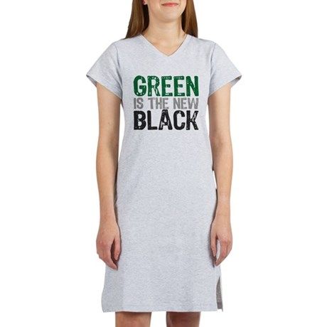 green_new_black.png Women's Nightshirt