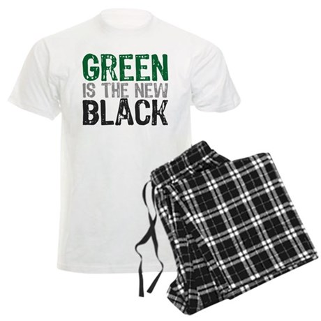 green_new_black.png Men's Light Pajamas